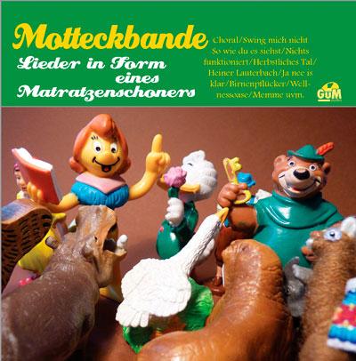 Motteckbande - Lieder in Form eines Matratzenschoners